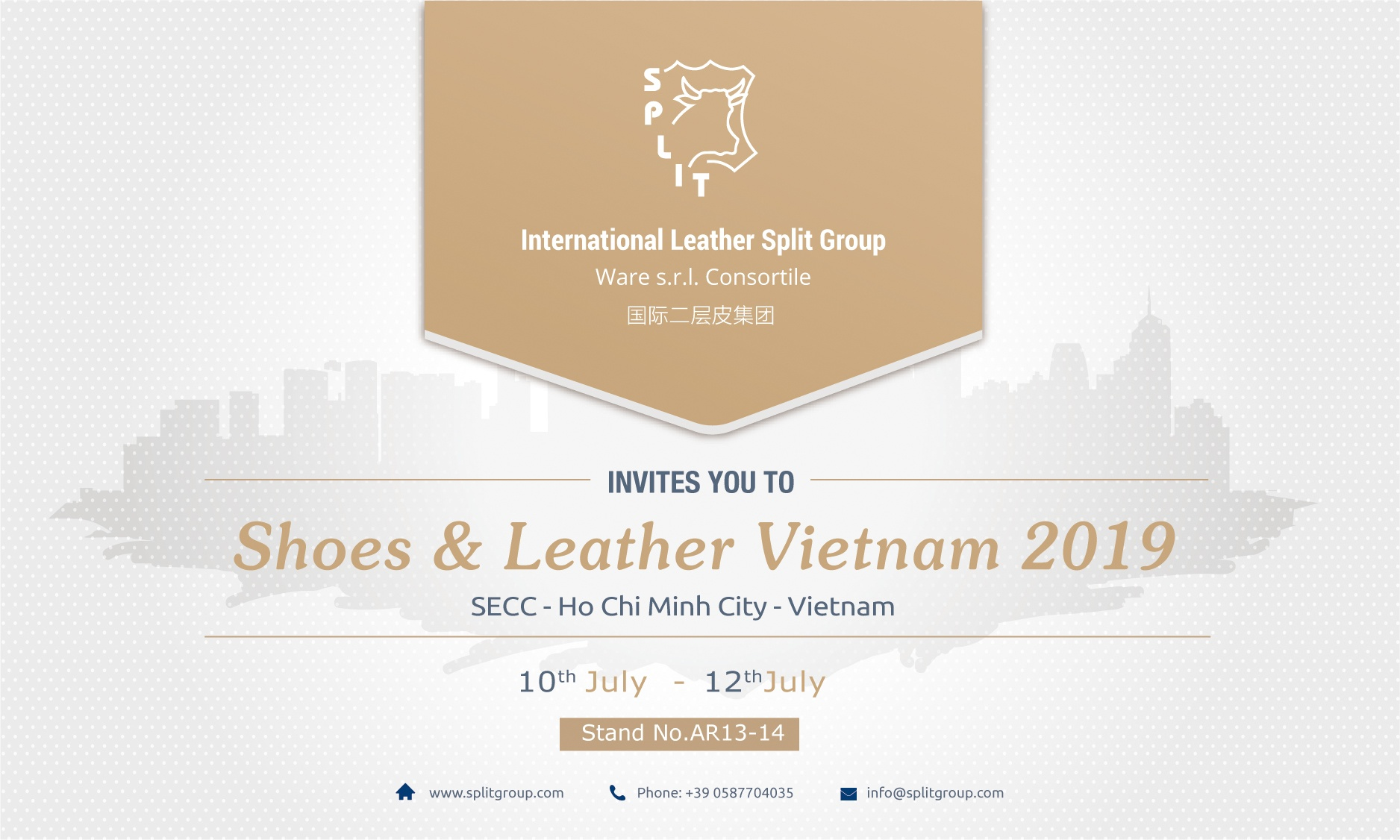 Shoes & Leather Vietnam 2019
