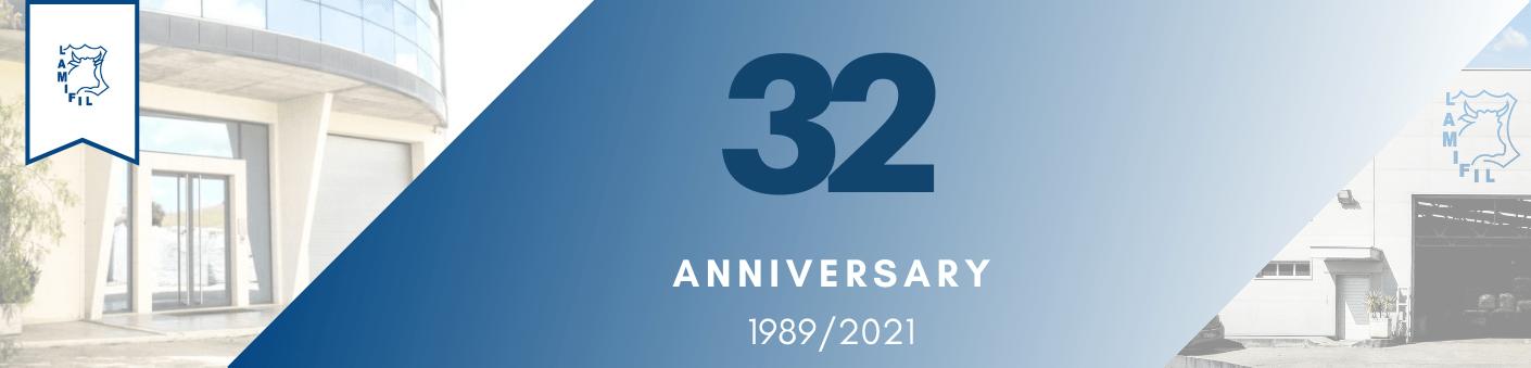 Lamifil 32nd anniversary