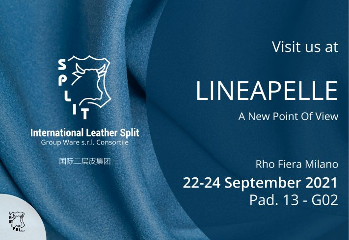 Visit us at Lineapelle, Pad. 13 - G02